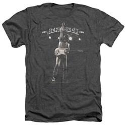 Jeff Beck - Mens Guitar God Heather T-Shirt