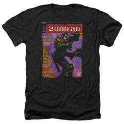 Judge Dredd - Mens 1067 Heather T-Shirt