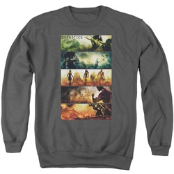 Injustice Gods Among Us - Mens Panels Sweater