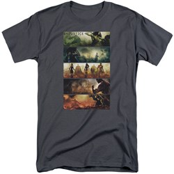 Injustice Gods Among Us - Mens Panels Tall T-Shirt