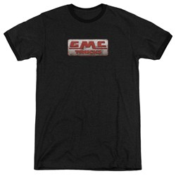 GMC - Mens Beat Up 1959 Logo Ringer T-Shirt