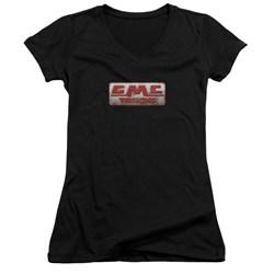 GMC - Juniors Beat Up 1959 Logo V-Neck T-Shirt
