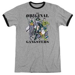 DC Comics - Mens Original Gangsters Ringer T-Shirt