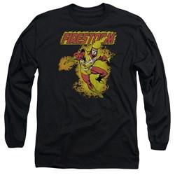 DC Comics - Mens Firestorm Long Sleeve T-Shirt