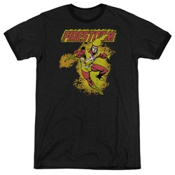 DC Comics - Mens Firestorm Ringer T-Shirt