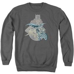 DC Comics - Mens Batgirl Biker Sweater