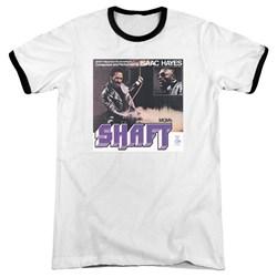 Isaac Hayes - Mens Shaft Ringer T-Shirt