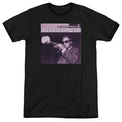 Miles Davis - Mens Prince Ringer T-Shirt