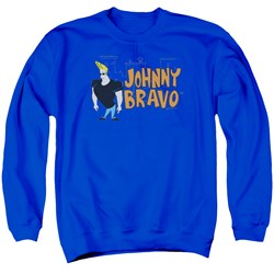 Johnny Bravo - Mens Johnny Logo Sweater