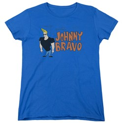 Johnny Bravo - Womens Johnny Logo T-Shirt