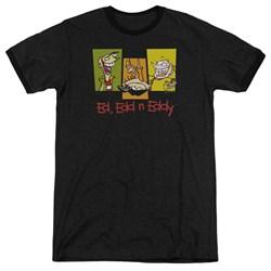 Ed Edd Eddy - Mens 3 Ed'S Ringer T-Shirt