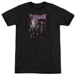 Cinderella - Mens Night Songs Ringer T-Shirt