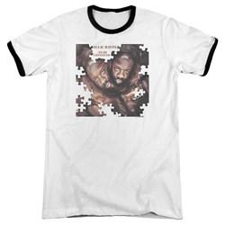 Isaac Hayes - Mens To Be Continued Ringer T-Shirt