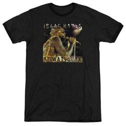 Isaac Hayes - Mens At Wattstax Ringer T-Shirt