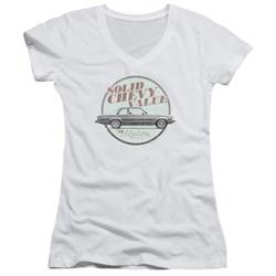 Chevrolet - Juniors Do The 'Bu V-Neck T-Shirt