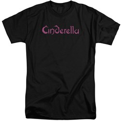 Cinderella - Mens Logo Rough Tall T-Shirt
