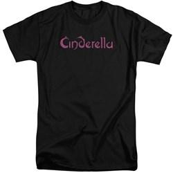 Cinderella - Mens Logo Rough Tall T-Shirt