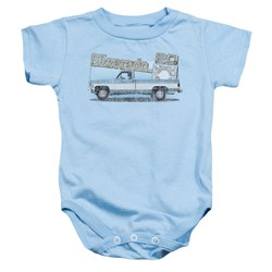 Chevrolet - Toddler Old Silverado Sketch Onesie