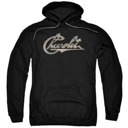 Chevrolet - Mens Chevy Script Pullover Hoodie