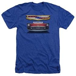 Chevrolet - Mens 1957 Bel Air Grille Heather T-Shirt