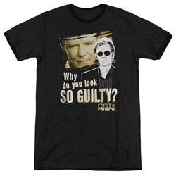 CSI Miami - Mens So Guilty Ringer T-Shirt