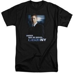 Csi:Ny - Mens Justice Served Tall T-Shirt