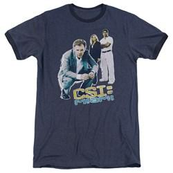 CSI Miami - Mens Perspective Ringer T-Shirt