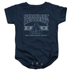 Star Trek - Toddler Starfleet Academy Earth Onesie