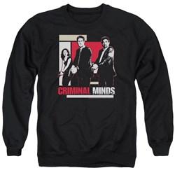 Criminal Minds - Mens Guns Drawn Sweater