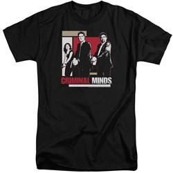 Criminal Minds - Mens Guns Drawn Tall T-Shirt
