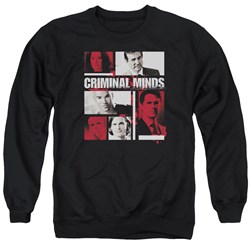 Criminal Minds - Mens Character Boxes Sweater