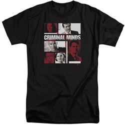 Criminal Minds - Mens Character Boxes Tall T-Shirt