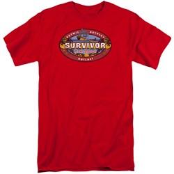 Survivor - Mens Cook Islands Tall T-Shirt