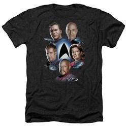 Star Trek - Mens Starfleet'S Finest Heather T-Shirt