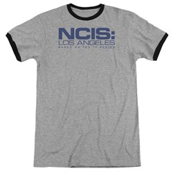 NCIS LA - Mens Logo Ringer T-Shirt