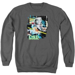 CSI - Mens Evidence Collage Sweater