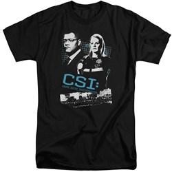 CSI - Mens Investigate This Tall T-Shirt