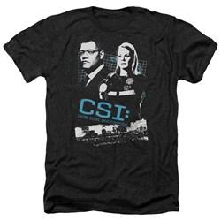 CSI - Mens Investigate This Heather T-Shirt