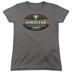 Survivor - Womens Heroes Vs Villains T-Shirt