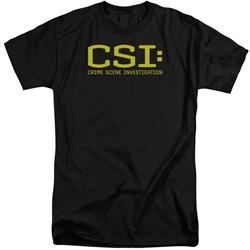 CSI - Mens Logo Tall T-Shirt