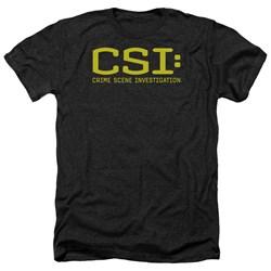 CSI - Mens Logo Heather T-Shirt