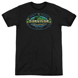Survivor - Mens All Stars Ringer T-Shirt