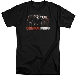 Criminal Minds - Mens The Brain Trust Tall T-Shirt