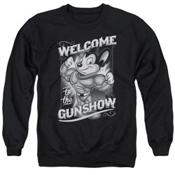 Mighty Mouse - Mens Mighty Gunshow Sweater