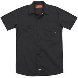 CSI Miami - Mens The Cast In Black (Back Print) Work Shirt