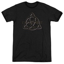 Charmed - Mens Triple Linked Logo Ringer T-Shirt