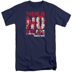 Criminal Minds - Mens No Escape Tall T-Shirt