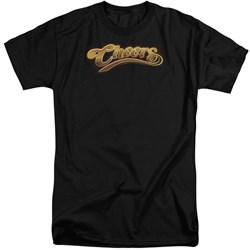 Cheers - Mens Cheers Logo Tall T-Shirt