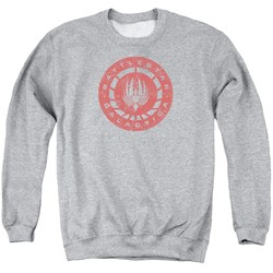 Battlestar Galactica - Mens Eroded Logo Sweater