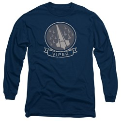Battlestar Galactica - Mens Viper Squad Long Sleeve T-Shirt